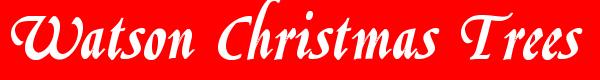 Watson Christmas Trees